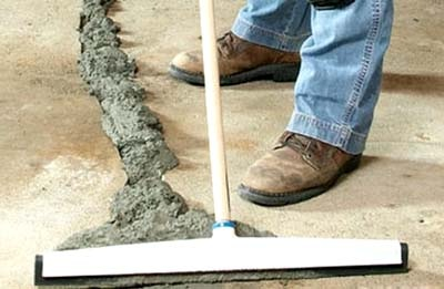 Вибрационной бетона обозначение цементного раствора на чертежах